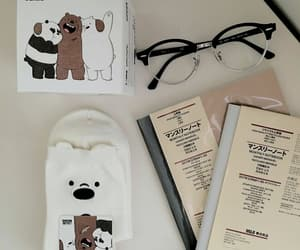 aesthetic, glasses, and we bare bears image