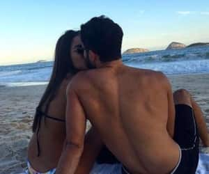 kiss, Relationship, and summer image