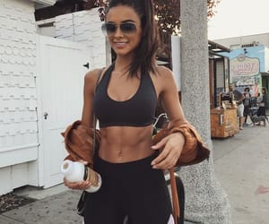 fitness, abs, and motivation image