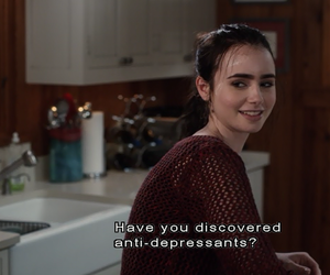 quotes, lily collins, and stuck in love image