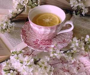pink and tea image