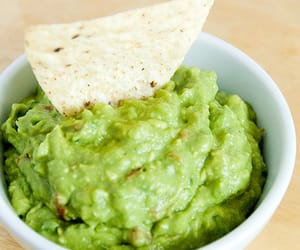 food, guacamole, and yum image