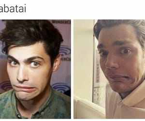 matthew daddario, parabatai, and shadowhunters image