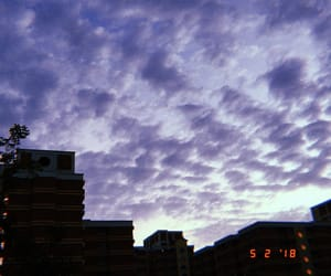 evening, film, and purple image