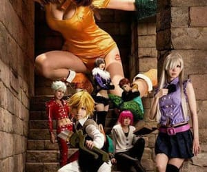 cosplay, nanatsu no taizai, and anime image