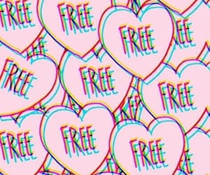 free, wallpaper, and pink image