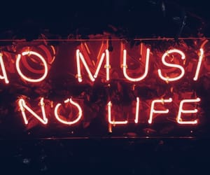 music, neon, and article image