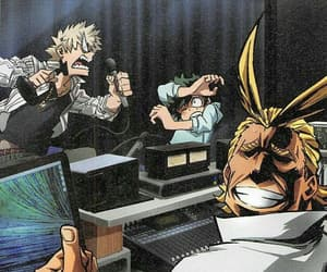 funny, mha, and all might image