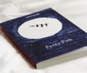 peter pan and book image