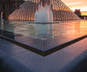 paris, louvre, and travel image