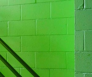 abstract photography, wall, and green image