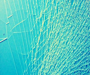 abstract, texture, and turquoise image