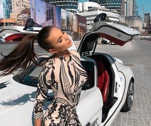 car, dress, and Dubai image
