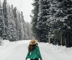 photography, snow, and travel image