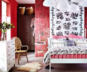 bedroom, interior decorating, and home decor image