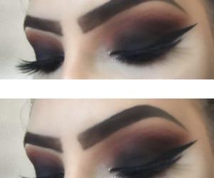 cosmetics, eyeliner, and eyeshadow image