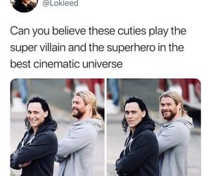 actors, Avengers, and loki image