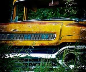 abandoned, trucks, and vehicles image