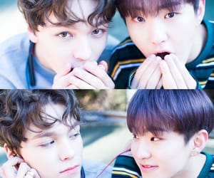 vernon, hansolchwe, and 버논 image