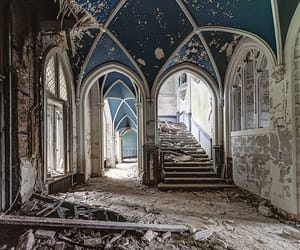 abandoned, arch, and arches image
