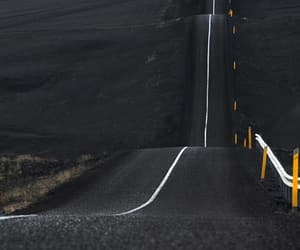 road and black image