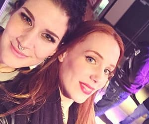 simone simons, charlotte wessels, and Epica image
