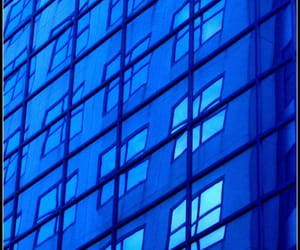 abstract photography, blue, and building image