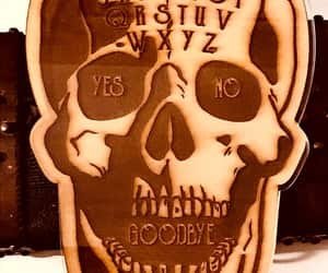 art, spirit board, and ouijaboard image