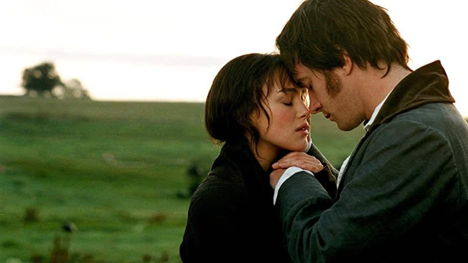pride and prejudice, mr darcy, and movie image