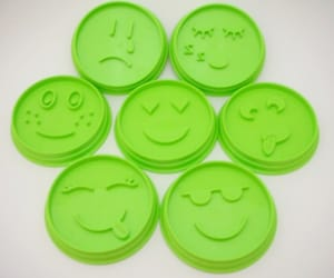 cookie cutters, pampered chef, and emoji image