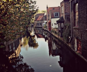 autumn, beautiful place, and canal image
