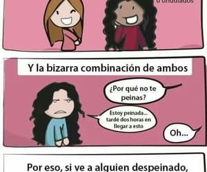 hair, frases, and girls image