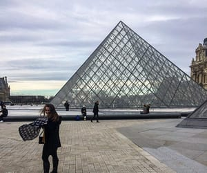 happiness, louvre, and love image