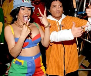 bruno mars and cardi b image