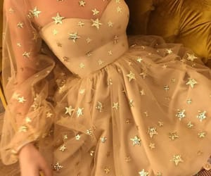 stars, dress, and fashion image