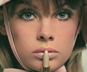 60s, jean shrimpton, and vintage image