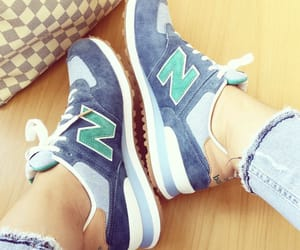 fashion, sneakers, and newbalance image