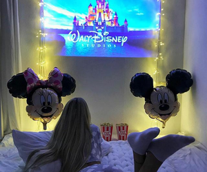 disney and girl image