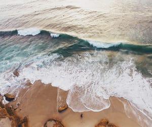 playa, olas, and sea image