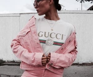 gucci, fashion, and pink image
