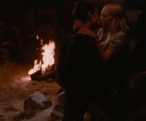 amanda seyfried, fire, and kiss image