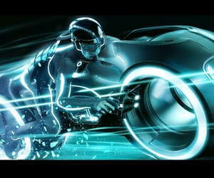tron and wallpaper image
