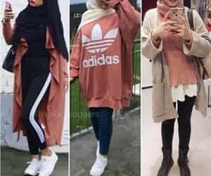 oversized sweater hijab image
