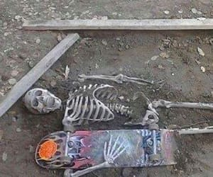 skeleton, aesthetic, and alternative image