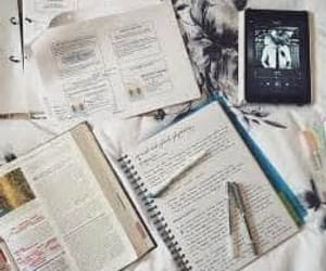 study, school, and books image