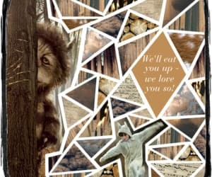 art, where the wild things are, and Collage image