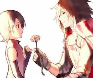 sarada uchiha, uchiha, and anime image
