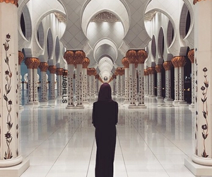 mosque, hijab, and islam image