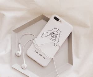 aesthetic, iphone, and white image