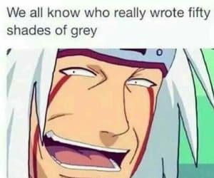 naruto, anime, and jiraya image